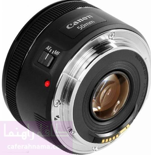 لنز دوربین عکاسی کانن مدل EF 50mm f/1.8 STM