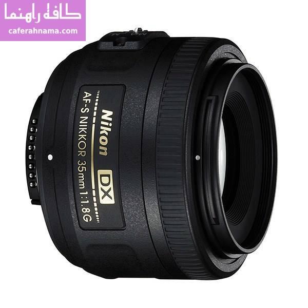 لنز دوربین عکاسی نیکون مدل 35mm f/1.8G DX AF-S