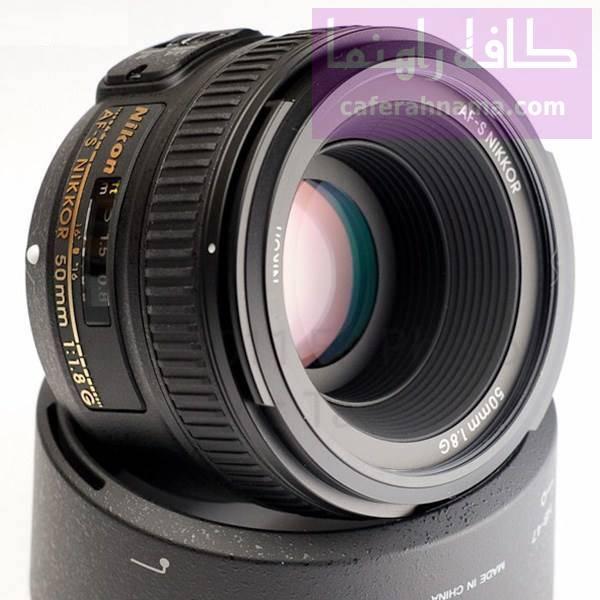 لنز دوربین عکاسی نیکون 50mm f/1.8G AF-S