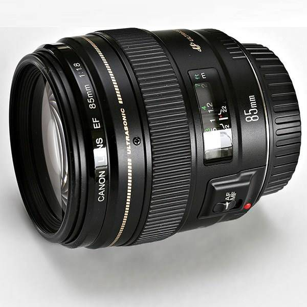 لنز دوربین عکاسی کانن EF 85mm F/1.8 USM