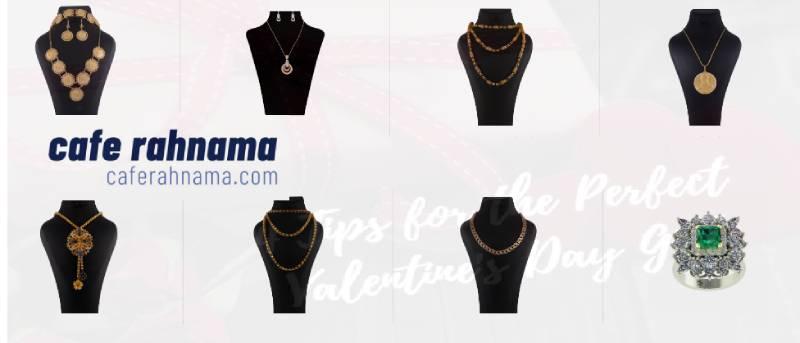 خرید آنلاین جواهرات برای ولنتاین