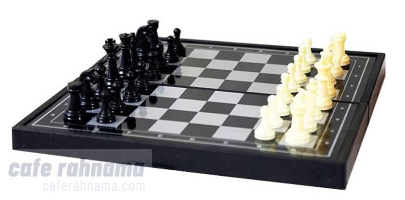 خرید شطرنج و مهره کوچک آهنربایی