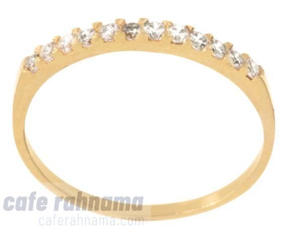 انگشتر طلا 18 عیار