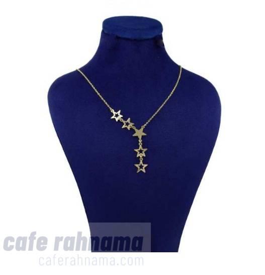 گردنبند طلا 18 عیار زنانه کانیار