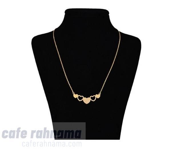 گردنبند طلا 18 عیار ماهک
