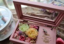 باکس گل رز جاودان موزیکال